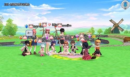 Pangya20121201-001クラブ4周年記念会♪.jpg